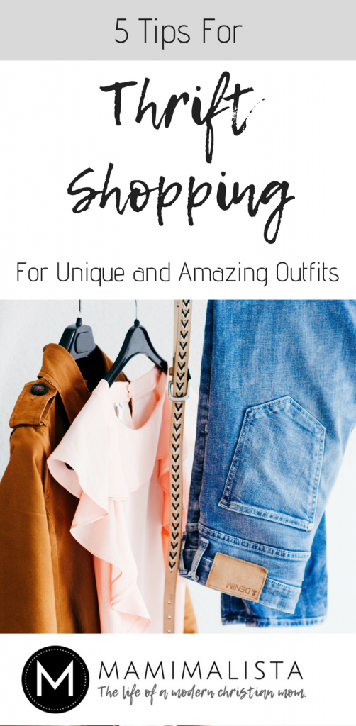 5 tips for thrift shopping for unique and amazing outfits